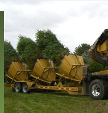 Strese's Tree Service Moving Truck